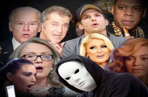 Θύματα χάκερ έπεσαν πολιτικοί και ηθοποιοί του Χόλιγουντ