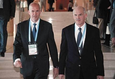 Μυστική συνάντηση Γιώργου και Αντρίκου στη Βουλή