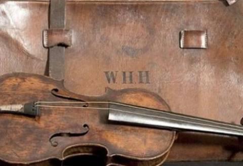 Το βιολί του Τιτανικού βρέθηκε 101 χρόνια μετά το ναυάγιο