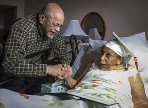 Πήρε απολυτήριο λυκείου σε ηλικία 106 ετών!