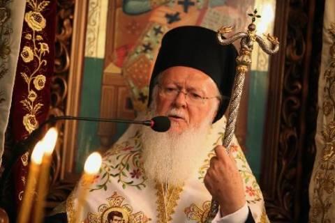 Ο Οικουμενικός Πατριάρχης Βαρθολομαίος στην τελετή ενθρόνισης του Πάπα