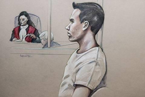 Κατέρρευσε στο δικαστήριο ο κανίβαλος πορνοστάρ με το βίντεό του