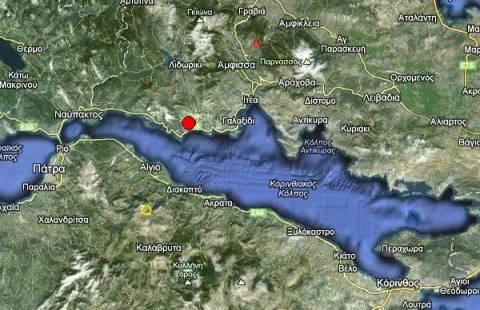 Σεισμός 3,5 Ρίχτερ δυτικά του Γαλαξιδίου