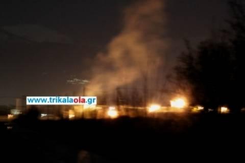 Βίντεο από τις εκρήξεις χειροβομβίδων στις φυλακές Τρικάλων