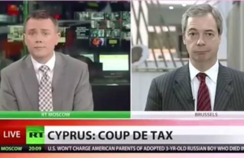 ΣΟΚ: Τι λέει ο Νάιτζελ Φάρατζ για Κύπρο - Γερμανία (vid)
