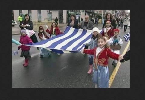 Καναδάς: Εκδηλώσεις και παρέλαση για την επέτειο της 25ης Μαρτίου