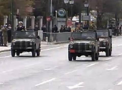 Δείτε LIVE την στρατιωτική παρέλαση στο Σύνταγμα