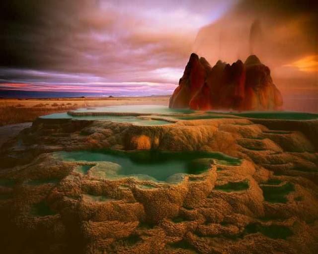 Ένα ασυνήθιστο φαινόμενο -Black Rock Desert-(pics)