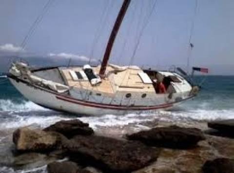 Προσάραξη ιστιοφόρου σκάφους στα Δωδεκάνησα