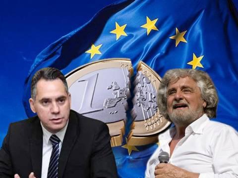 Κίνημα εξόδου από το ευρώ στον Νότο