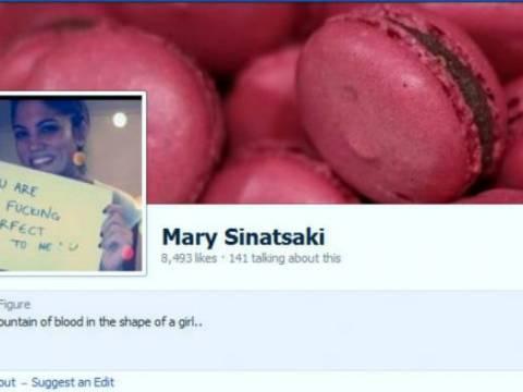 Οργισμένο μήνυμα της Συνατσάκη για το ψεύτικο προφίλ της στο Facebook