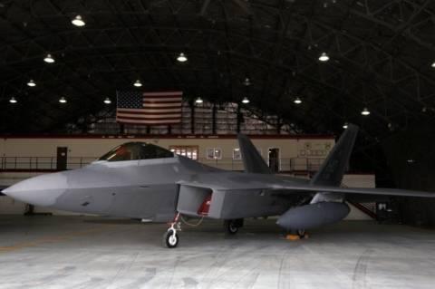 Από την Ιαπωνία απογειώνονται τα αμερικανικά καταδιωκτικά F-22