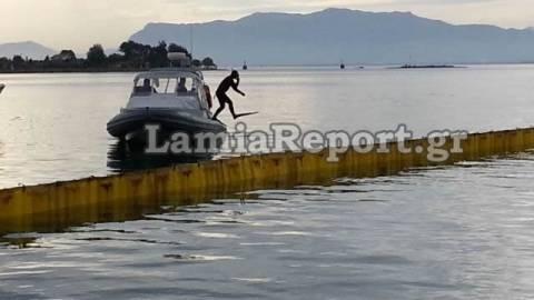 Στυλίδα: Συναγερμός στο λιμάνι για «ρύπανση» από πετρελαιοκηλίδα
