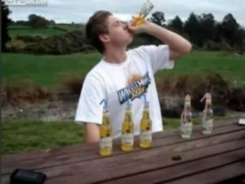 Βίντεο: Τι συμβαίνει αν πιεις 6 μπύρες σε 2 λεπτά;