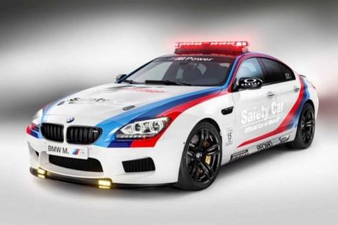 BMW M6 Gran Coupe, σε ρόλο safety car!