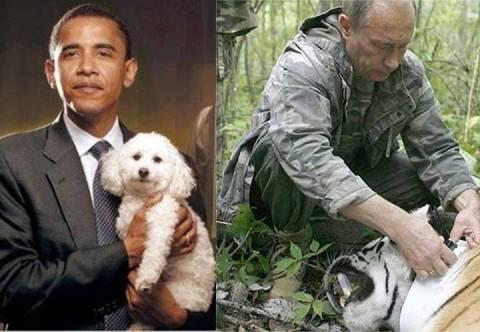 Ποια είναι η διαφορά μεταξύ Ομπάμα και Πούτιν;