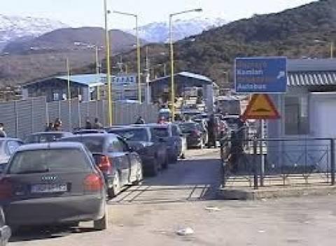 Αλβανία: Χαοτική κατάσταση στη διέλευση της Κρυσταλλοπηγής