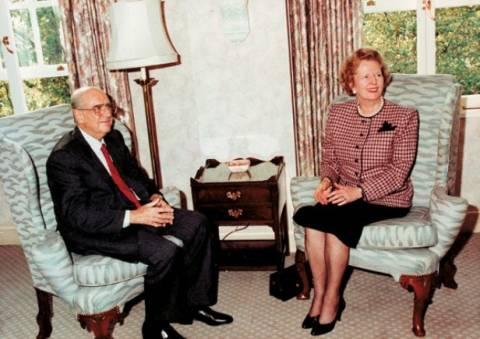 Πάγκαλος: Ο Ανδρέας εκνεύριζε τη Θάτσερ πολιτικά και προσωπικά
