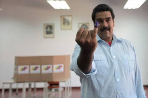 Νίκη του Μαδούρο στις εκλογές της Βενεζουέλας