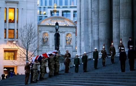 Μάργκαρετ Θάτσερ: Έγινε η πρόβα της κηδείας