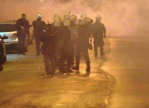 Επεισόδια και συλλήψεις στο γήπεδο της Ριζούπολης