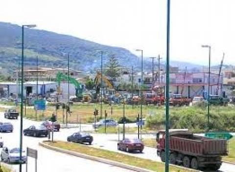 Ηράκλειο: Δημοπρατήθηκαν 8 οδικοί κόμβοι
