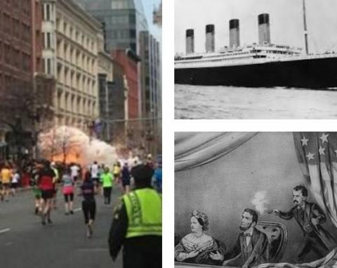 Τιτανικός, Λίνκολν, Βοστώνη – Σενάρια συνωμοσίας για την 15η Απριλίου