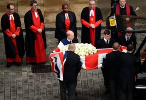 Ολοκληρώθηκε η κηδεία της Μάργκαρετ Θάτσερ