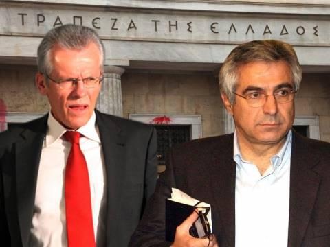 Παρέμβαση Πεπόνη-Μουζακίτη για την Τράπεζα της Ελλάδος