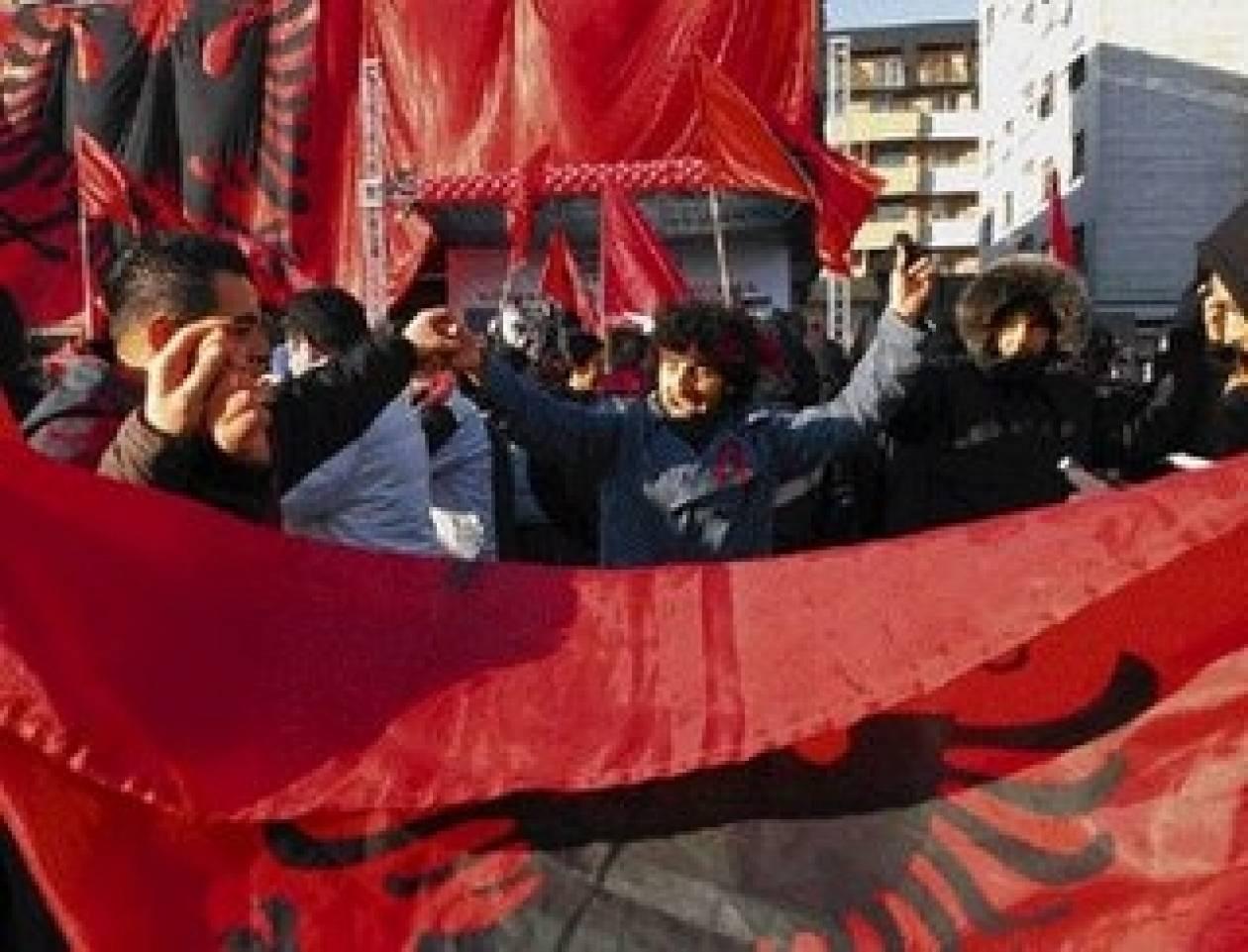 Εξαρση του εθνικισμού στην Αλβανία