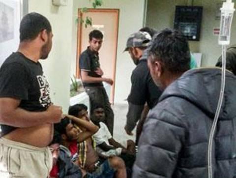 ΕΛ.ΑΣ.: Δε συλλαμβάνουμε τραυματισμένους μετανάστες στη Μανωλάδα