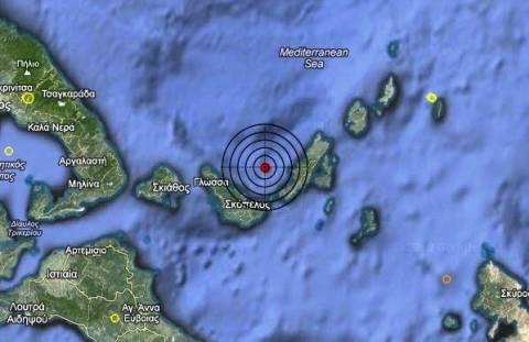 Σεισμός 3,1 Ρίχτερ στις Σποράδες