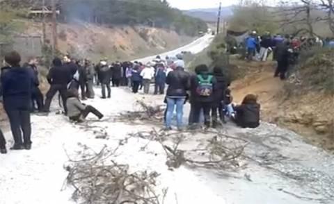Συγκέντρωση διαμαρτυρίας στη Χαλκιδική ενάντια στα μεταλλεία χρυσού