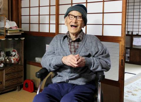 Ο γηραιότερος άνθρωπος του κόσμου έγινε 116 ετών!