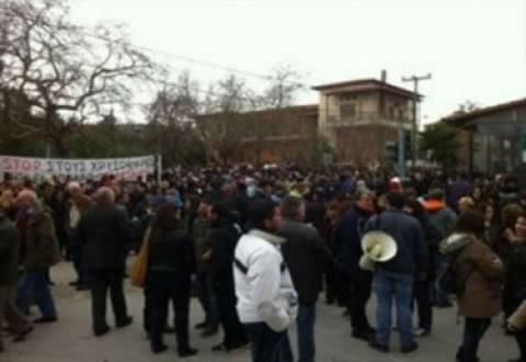 Θεσσαλονίκη: Νέα συγκέντρωση διαμαρτυρίας για τα μεταλλεία χρυσού