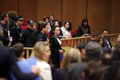 Δίκη Τσοχατζόπουλου: Φωτογραφίες από την αίθουσα του Δικαστηρίου