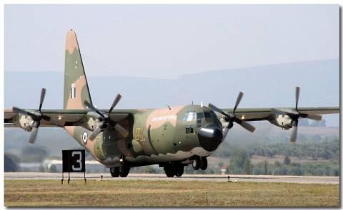 Με C-130 στην Αθήνα ο τραυματίας από την έκρηξη στην Κρήτη