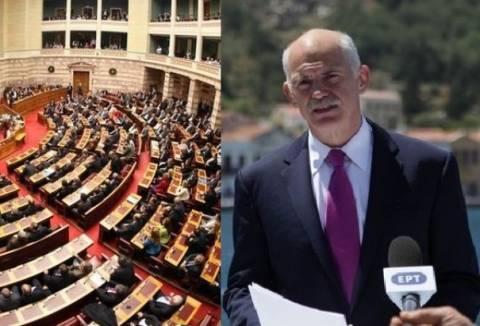 Άγρια κόντρα στη Βουλή για την 3η επέτειο του Μνημονίου