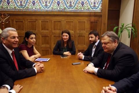 Συνάντηση Βενιζέλου – Κυπριανού