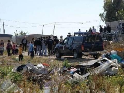 Έφοδοι της ΕΛ.ΑΣ. σε οικισμούς Ρομά