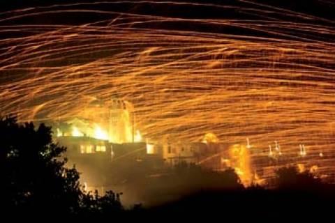 Χίος: Κατάσχεση εκατοντάδων ρουκετών λίγο πριν την Ανάσταση