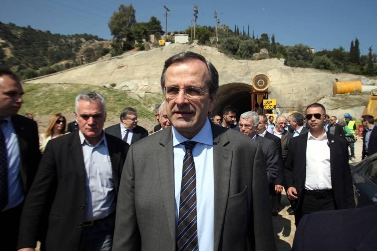 Σαμαράς: Η Ελλάδα σηκώνει μανίκια