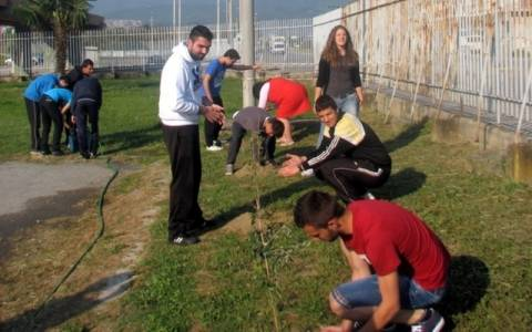 Ημαθία: 21 ελιές στη μνήμη των αδικοχαμένων μαθητών