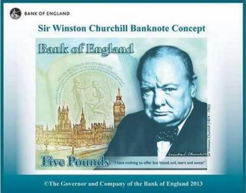 Η Βρετανία ετοιμάζει χαρτονόμισμα με τον Τσώρτσιλ