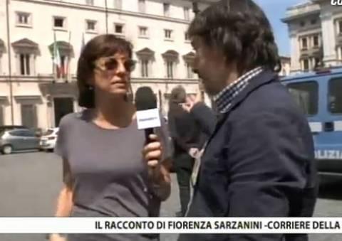 Live: Η αντιτρομοκρατική έξω από το κυβερνητικό μέγαρο της Ρώμης