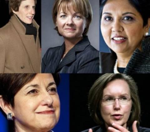Αυτές είναι οι 5 πιο επιτυχημένες γυναίκες του πλανήτη