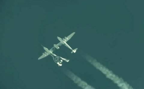 Βίντεο: Ξεκίνησε τις δοκιμαστικές πτήσεις το «Virgin Galactic»