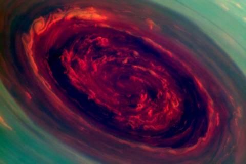 Εντυπωσιακές φωτογραφίες της NASA από την καταιγίδα στον Κρόνο