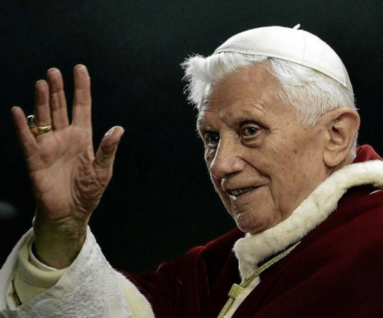 Επιστρέφει στο Βατικανό ο Πάπας Βενέδικτος