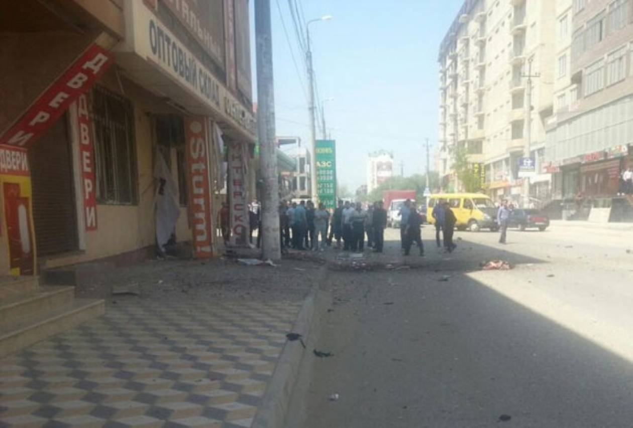 Βίντεο: Αιματηρή βομβιστική επίθεση στο Νταγκεστάν